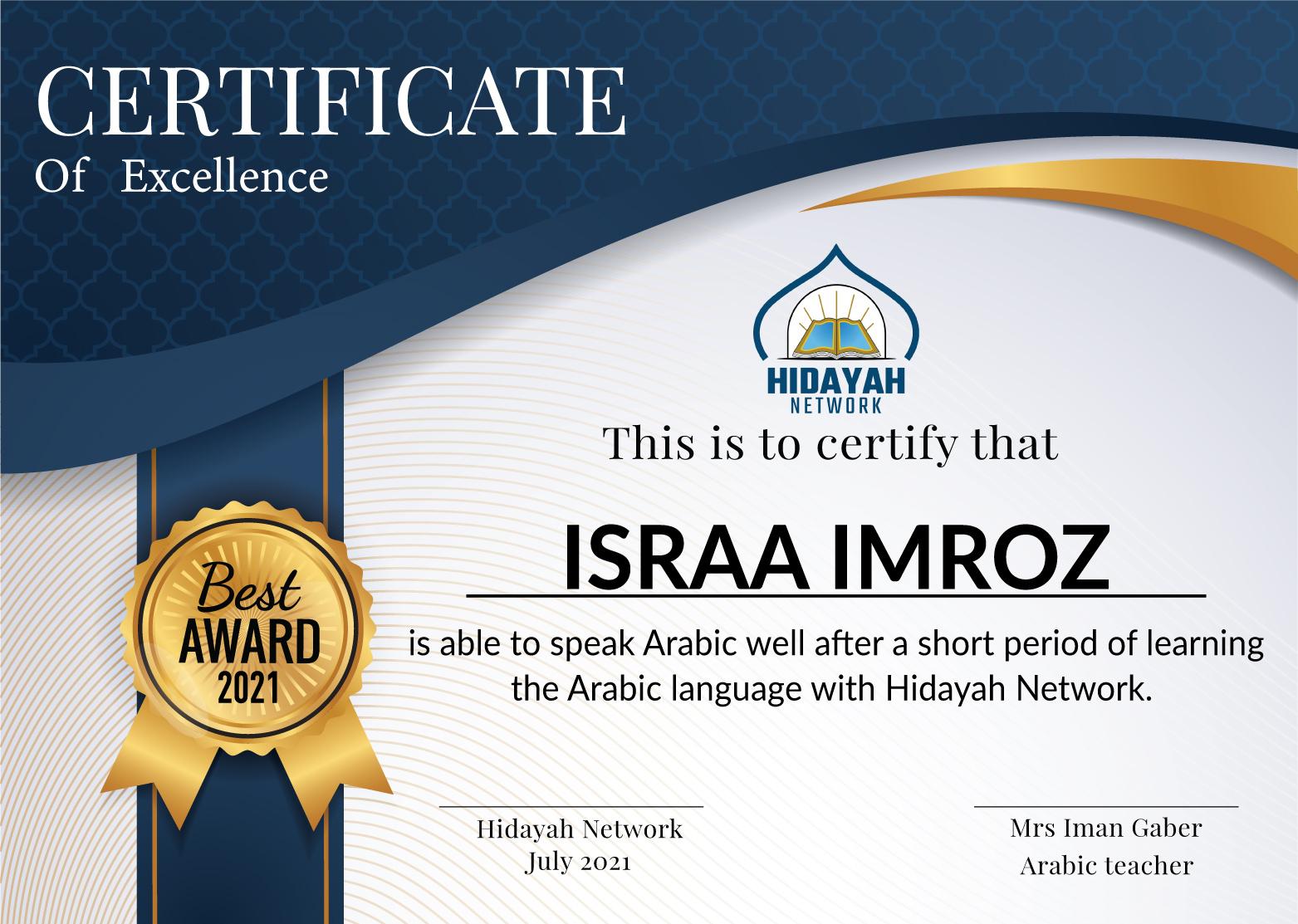 Israa-imroz